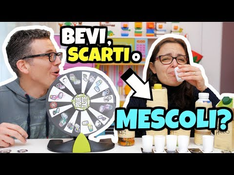 LO BEVI O LO SCARTI O LO MESCOLI CHALLENGE: il gioco