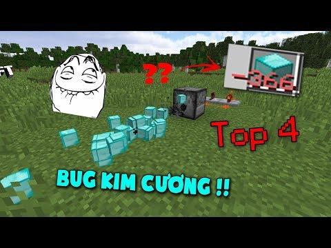 Top 4 Lỗi Bug Kim Cương Hack Não Nhất Bạn Nên Biết Khi Chơi Minecraft !! - Thời lượng: 6 phút, 53 giây.