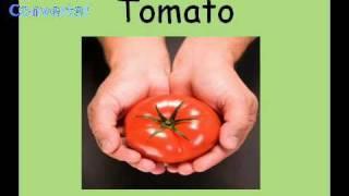 Basic English Vocabulary 14: Vegetables