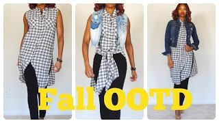 Fall OOTD | Fall Fashion | JustJocq | Outfit of the Day - YouTube