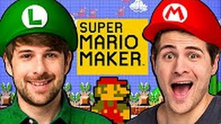 [SMOSH] WE'RE IN SUPER MARIO MAKER! [VIETSUB]