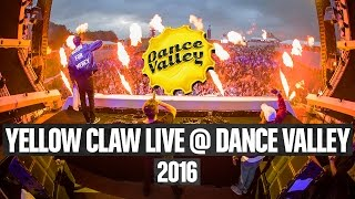 Yellow CLaw Full Liveset - Dance Valley 2016 4k Video