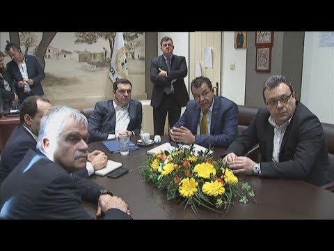 Στον δήμο Φυλής ο πρωθυπουργός, Αλέξης Τσίπρας