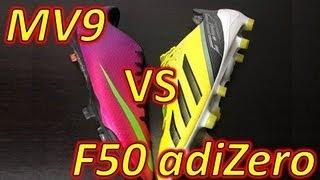 adidas f50 adizero leather vs synthetic