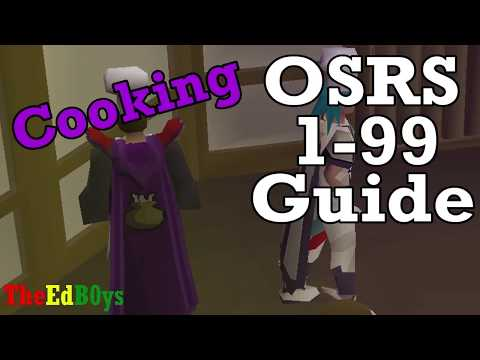 UPDATED Guide In DESCRPTION |  Runescape 2007 1-99 Cooking Guide