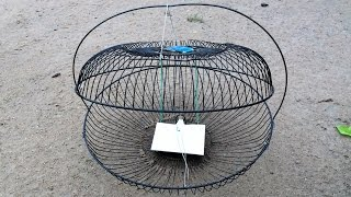 How to make a mouse trap or bird trap by old fan