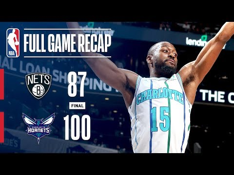 Video: Full Game Recap: Nets VS Hornets | Parker Seals It In The 4th