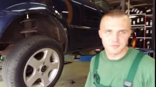 Mechanik płakał jak naprawiał auto – Klient stwierdził, że miał stukanie w tylnej osi.
