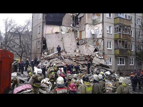 Ρωσία: Ισοπεδώθηκε πολυκατοικία από έκρηξη γκαζιού