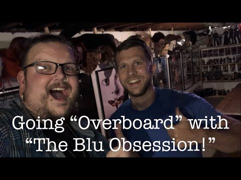 """Blu Ray/DVD shopping 07/31/18 (Going """"Overboard"""" with """"The Blu Obsession!!"""")"""