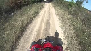 4. Dvx 400 (suzuki ltz400) tearin up the trails