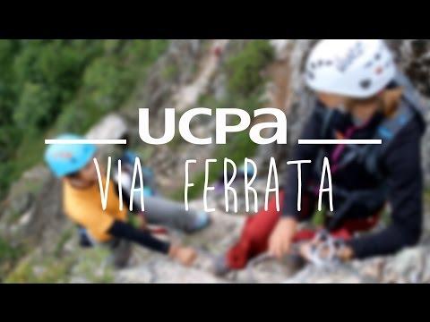 Les séjours via ferrata à l'UCPA