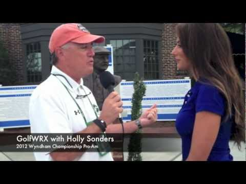 GolfWRX: Holly Sonders at the Wyndham Championship Pro-Am
