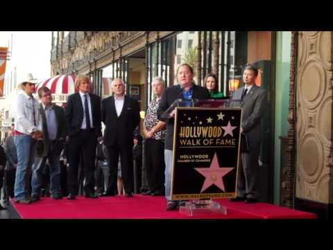 John Lasseter Walk of Fame Ceremony