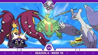 COIN FLIP! | Minnesota Vikavolts VS New Orleans Pelippers NPA S4 W10  | Pokemon Ultra S/M by aDrive