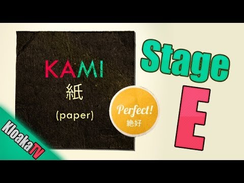 KAMI Stage E - Perfect Walkthrough Guide - Levels 1 to 9 (видео)