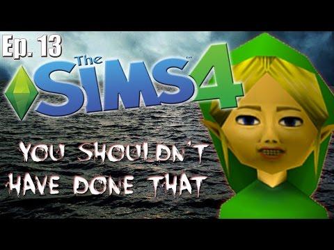Ben Drowned RETURNS!! - The Sims 4: Creepypasta Theme - Ep. 13