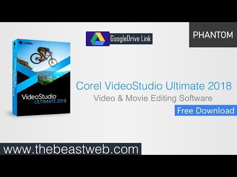 Corel VideoStudio Ultimate 2018 (X64) - Free Download and Install
