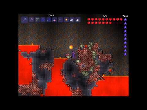 preview-Let\'s Play Terraria! - 008 - The Underground Jungle (part 2/2, Underworld, Blade of Grass) (ctye85)