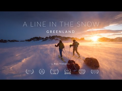 A Line in the Snow - Greenland