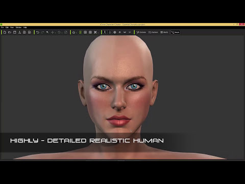iClone Character Creator - Generate Unlimited 3D Characters