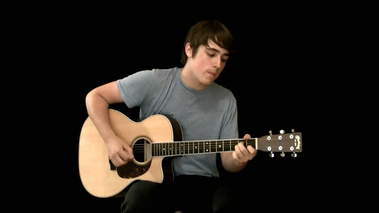 Nick Stratton Acoustic Guitar Improv Session