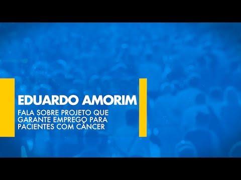 Eduardo Amorim (PSDB-SE) fala sobre projeto que garante emprego para pacientes com câncer