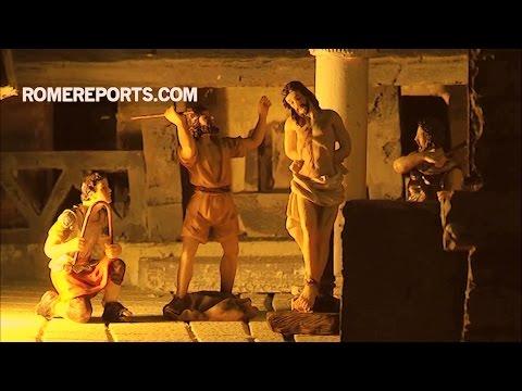 Tái hiện cuộc Khổ nạn của Chúa Giêsu bằng nghệ thuật thủ công