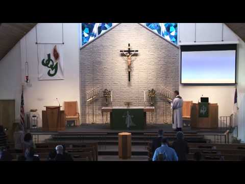 Bethlehem Lutheran Church - Sunday Worship Service: 1/25/2015