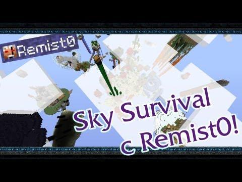 ТАКОЙ ДЛИННЫЙ! Minecraft. Sky Survival.