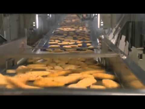 ABB Robotics   High Speed Packing of Frozen Fish
