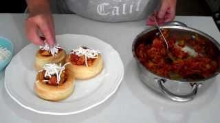 Pastel de hojaldre con verduras y queso