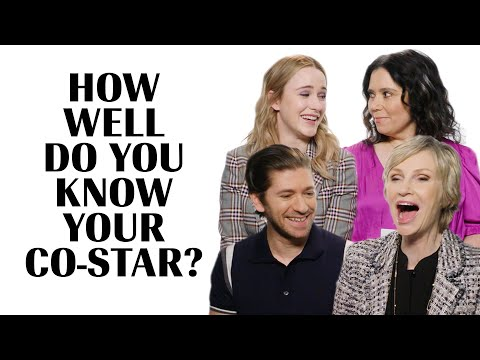 The Marvelous Mrs. Maisel | How Well Do You Know Your Co-Star? | Marie Claire