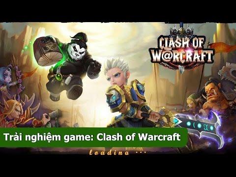 Trải nghiệm game ARPG Clash of W@rcraft - Gamota