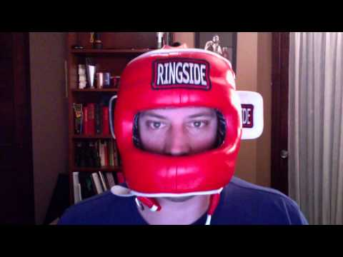 Headgear Review boxing MMA Ringside face saver
