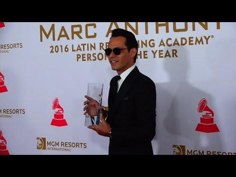 Marc Anthony persona del año, alfombra roja