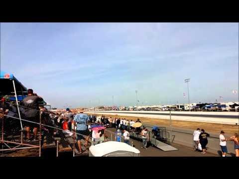 Huge Altered Crash @ Famoso Raceway