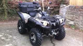 10. Yamaha Grizzly 700 2013