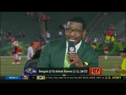 NFLN Thursday Night Football Postgame Show presented by US ARMY 2018 BAL@CIN