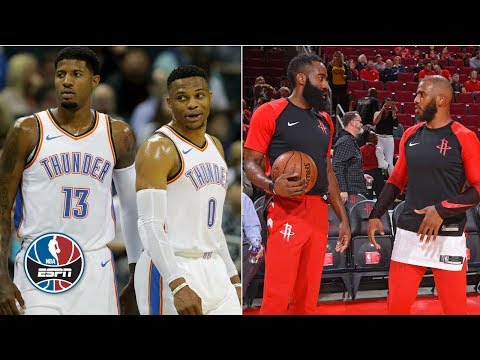 Video: Can the Thunder or Rockets knock off the Warriors? | NBA Countdown
