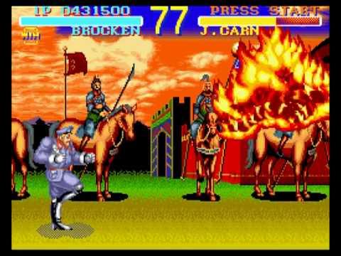 World Heroes Super Nintendo