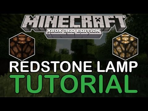 Redstone lamp - New? Subscribe Here - It's Free - http://bit.ly/VQnlTG Follow me on Twitter: http://bit.ly/113Ijh9 for all things XBOX/PC MINECRAFT My Server: Taz.Limehostin...