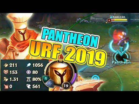 HỐT 41 XÁC VỚI PANTHEON 1056 AP TẠI CHẾ ĐỘ URF 2019 - Thời lượng: 24 phút.