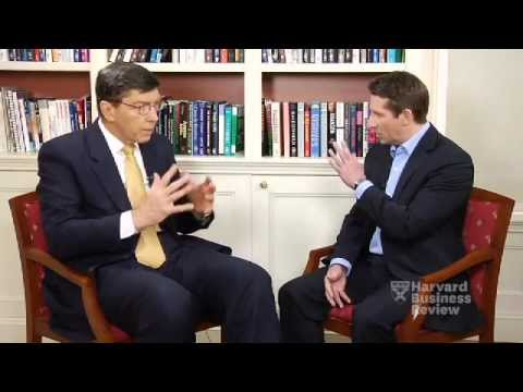 disruptive - Clay Christensen, Harvard Business School professor and the world's most influential management guru according to the Thinkers50, lays out his landmark theory.
