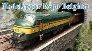 "Video 50 Ultra Realistic Model Railway Layouts - Model Railroad Exhibition ""Modelspoor Expo"" in Belgium MP3, 3GP, MP4, WEBM, AVI, FLV Oktober 2018"