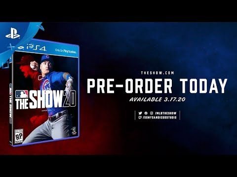 MLB The Show 20 - Announcement Trailer  PS4