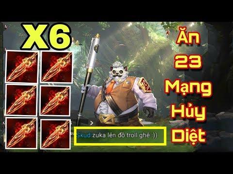 [Gcaothu] 30 phút nghẹt thở zuka ăn 23 mạng khi lên 6 trang bị Nanh Fenrir - trận đấu lịch sử - Thời lượng: 28:24.