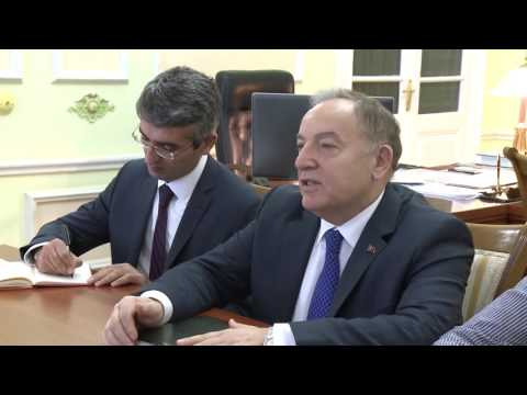 Moldovan president meets Turkish envoy