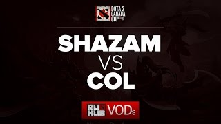 Shazam vs coL, game 1