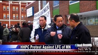 Suab Hmong News:  HHPC Protested Against Lao Family Community of Minnesota on March 14, 2014